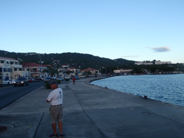 Walking the St Thomas Water Front
