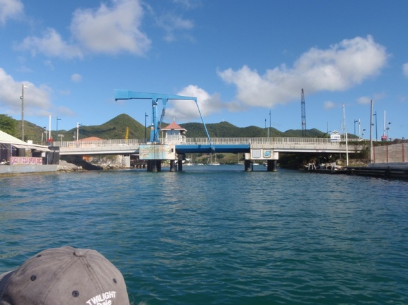 St. Martin Draw Bridge to Lagoon