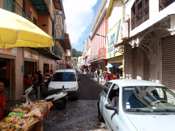Walking the City Streets of Martinique