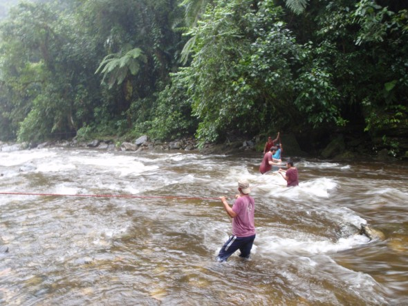 River Crossing at Lost City