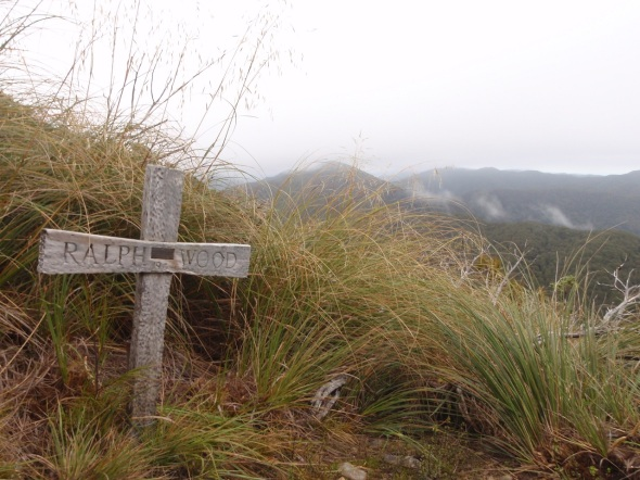 Before I began this hike I was told by many locals that people past away in storms up in the Tararua Range. I guess it didn't sink in until I passed the crosses.