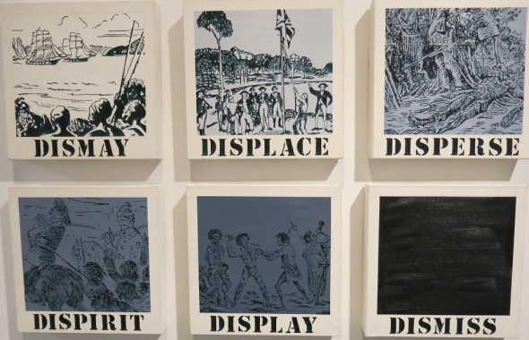 Modern Art Gallery in Sydney. I think this pretty much sums up the South Pacific.